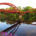 The Tridge, right behind hotel