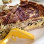 turkey sausage artichoke quiche