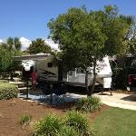 campsite at destin rv