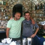the two bar men - Niko and Andreas