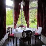 view frim dining room