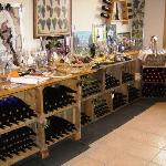 Carlson Vineyard Wine Racks