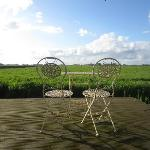  Terras met oneindig uitzicht - infinite views...