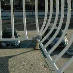 Duct Tape Railing - feel safe?
