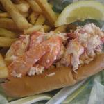  Mmm lobster roll!