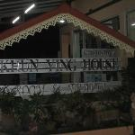 The main hotel sign