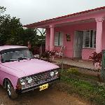  Pink car of Yerandy (Tito) and Casa Tery