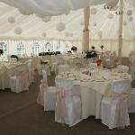  Inside the marquee
