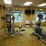  Fitness room.