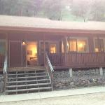  The outside of our lodge w veranda