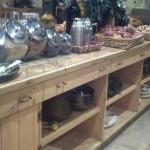  Just a small part of the breakfast bar