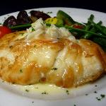  Sauteed black grouper with crabmeat beurre blanc