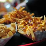 Monk's Cheesecurds and Cheese Fries