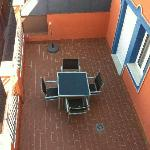 Nuestra terraza privada!!