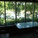 ask for a private screened porch