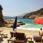 best beach in Kas