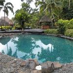 The pool at Qamea