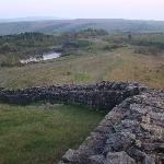 Hadrian's Wall near the B&B