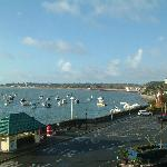 Gorey Harbour from our room