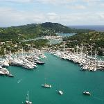 Cloggys at the Antigua Yacht Club