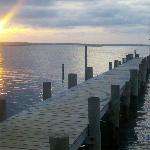 Fishing pier @ sunset