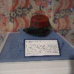 The zoave kepi worn by Elmer E. Ellsworth at the tim