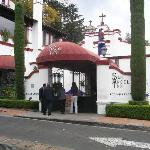 San Angel Inn entrance