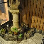  Stone lantern in garden, seems special in Kyoto