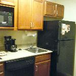 This is the kitchenette