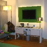  Standart double room - TV area