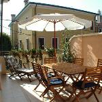 terrazza in estate