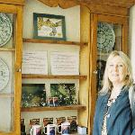  Hostess Jan Billings by Dion Fortune Display in Kitchen