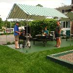  bbq area