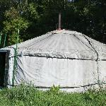 External view of a yurt