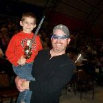  Mikey and I at Sailor Circus