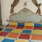  Bedroom bed - romantic style, looks like vintage.