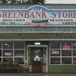 Front of the Greenbank Store. The Grille is upstairs