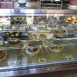  Lots of pastries, quiches but not bread.