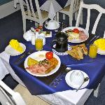 Breakfast cooked fresh to your order