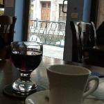 Coffee and porto goes well together...