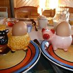  Note, the Egg Cups.