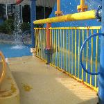  Kiddy area walkway