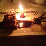  1st Anniversary Dessert