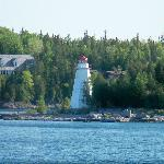 Light house as seen from the Chi cheemaun Cruise