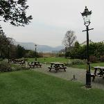 Derwentwater hotel gardens with view of the Lake
