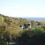 View from the deck of the Bay of Fundy