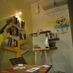  graffitea book area