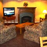Westgate Inn lobby seating area