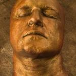 This is a Marlon Brando lifecast from Sar Museum's collection. Lifecasts were usually taken to a