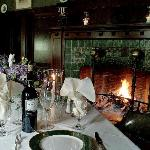 Fireside dining at the Wilburton Inn Restaurant